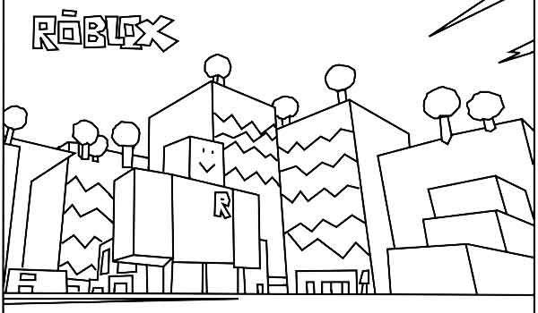 Роблокс раскраски печатать для мальчиков и девочек бесплатно