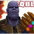 Танос в Роблоксе