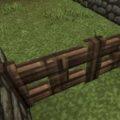 Забор в майнкрафте