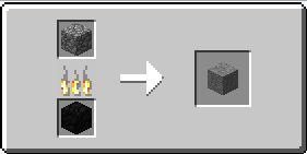 Изготовление камня в майнкрафте