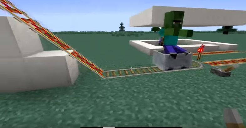 Железная дорога с зомби