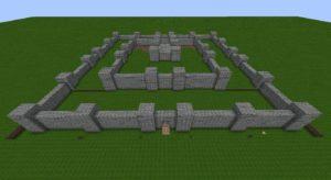 Около замковые стены