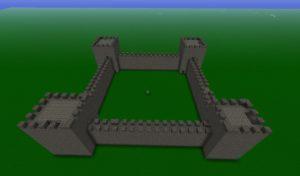 Фундамент замка