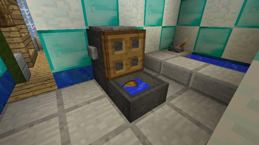 моды майнкрафт на домашние вещи как душ ванна забор #2
