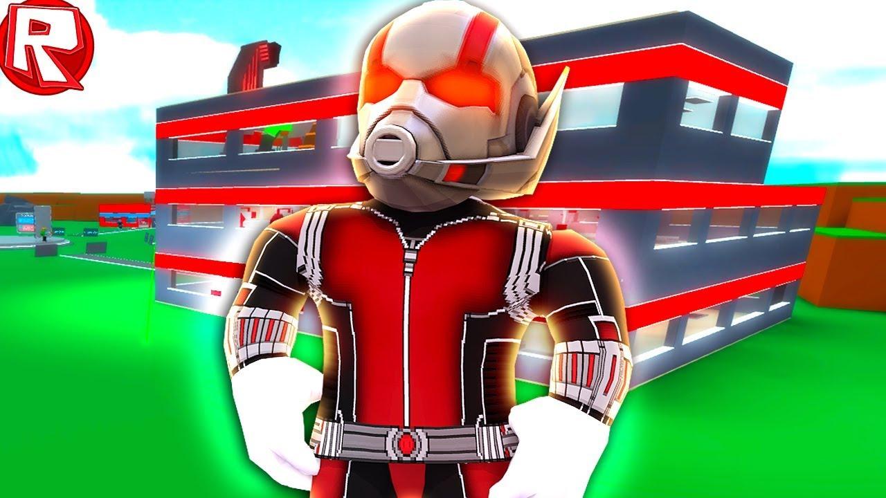 Роблокс человек муравей играть в симулятор, видео с Аидом