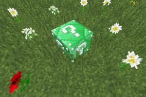 Emerald Lucky Block - изумрудный лаки блок