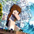 Видео цунами в майнкрафте