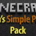 Simple parts pack базовый набор компонентов и деталей для модов
