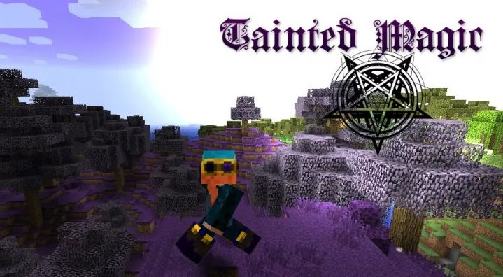 Tainted Magic аддон для Thaumcraft на темную магию