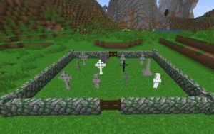 Gravestone mod надгробия, кладбища и катакомбы