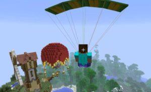 Parachute мод на парашют