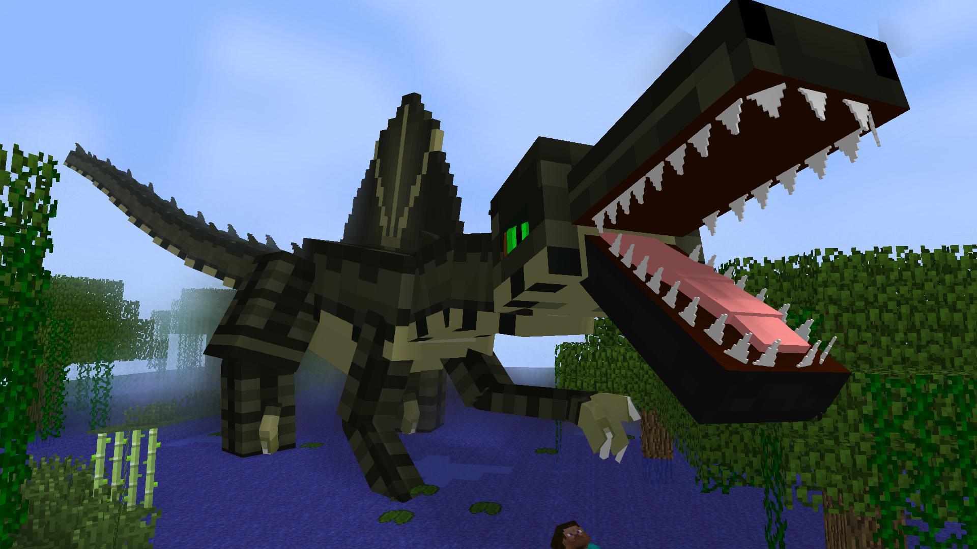 мод на динозавров в майнкрафт 1.7.10 #6