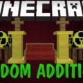 Random Additions блоки, мебель, оружие и броня