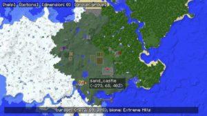 MapWriter 2 мини-карта