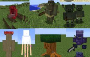 iYAMATO's Mod новые мобы, оружие и броня