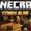 Minecraft Comes Alive семья, жена, дети и другие интерактивные НПС