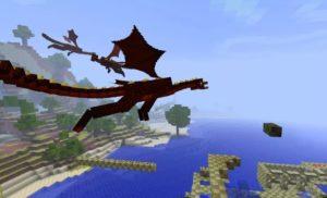 Dragon Mounts мод на драконов