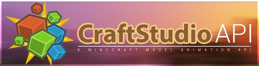 CraftStudio API - библиотека