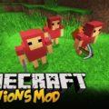 Minecraft Minions - миньоны помощники