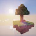 Skyblock выживание на острове в небе