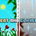Heat And Climate - мод на климат (температура, влажность, ветреность)