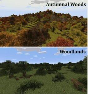 Traverse 7 новых биомов