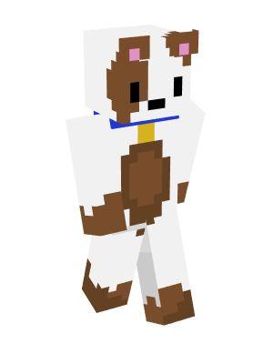 скины для майнкрафт собак #11