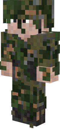 скин русского солдата для майнкрафт #8