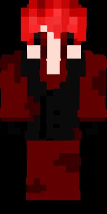 Скин вампира для майнкрафт