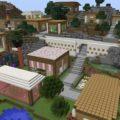 Карта современная деревня
