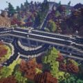 Roads in Minecraft