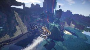 Roads in Minecraft