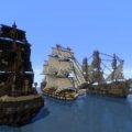 3 пиратских фрегата