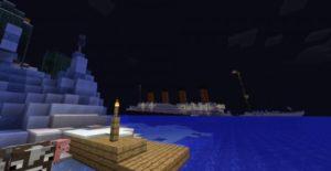 Карта Титаник