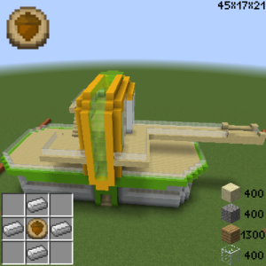 Archicraft быстрое строительство сложных строений