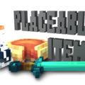 Placeable Items проработанные 3D модели ванильных предметов