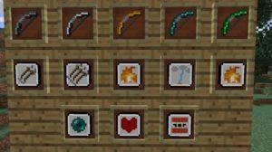 Extra Bows новые луки с разными эффектами