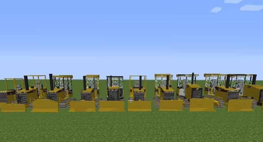 Caterpillar Pack бульдозеры для Transport Simulator