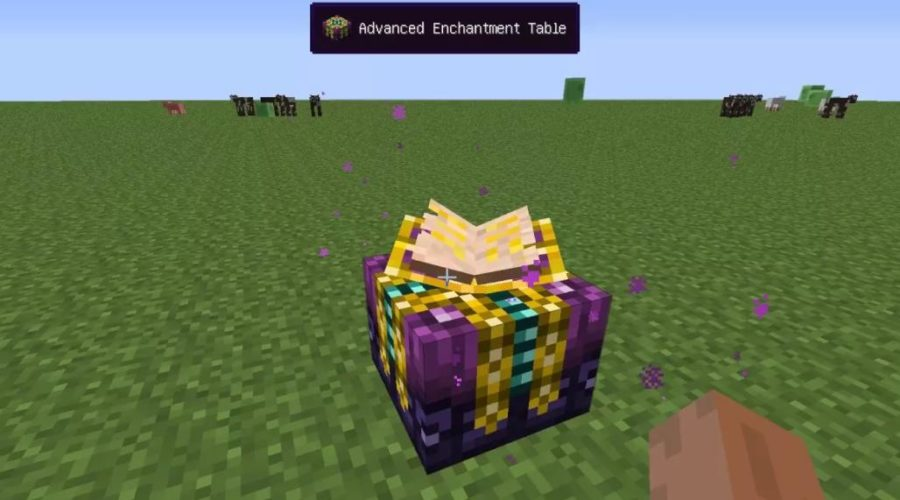 Advanced Enchantment Table новый стол для зачарования