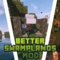 Traitor's Better Swamplands новые мобы и растения на болотах
