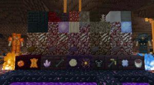 NetherEx изменение нижнего мира: новые мобы, биомы, блоки