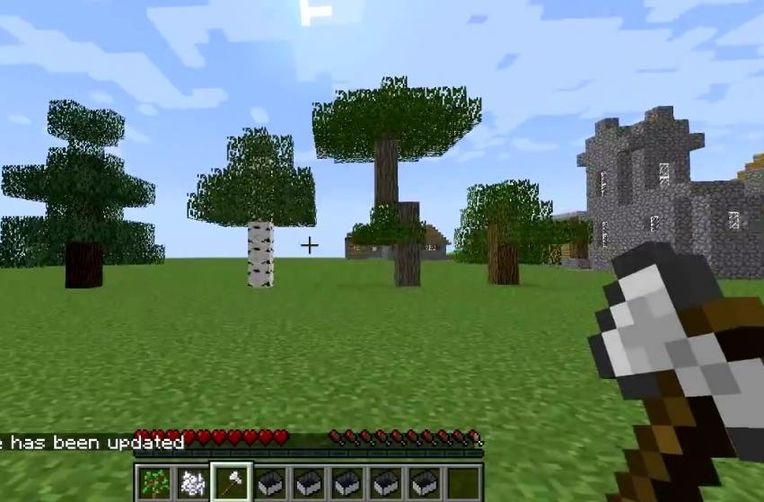 мини карта майнкрафт 1 12 2 treecapitator #4