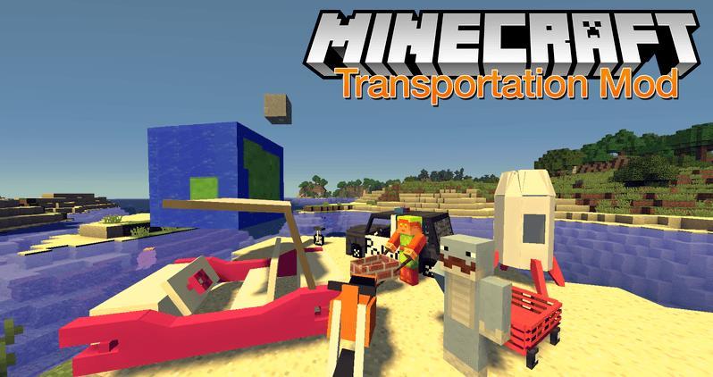 SoggyMustache's Transportation новый транспорт