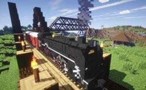 Traincraft поезда, вагоны, дирижабли и т.д.