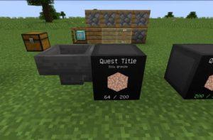 FTB Quests создание квестов для игры
