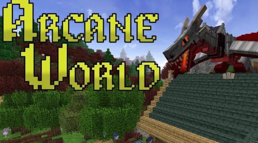 Arcane World магия, призыв крокодилов, создание вещей