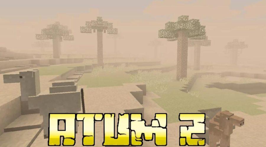 Atum 2: Return to the Sands новое песчаное измерение, мобы, предметы