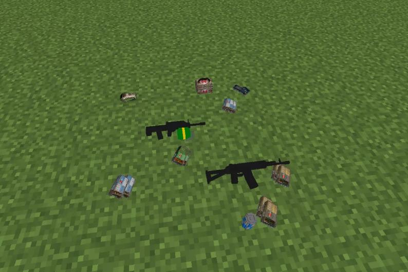 PUBGMC вещи и снаряжение из PLAYERUNKNOWN'S BATTLEGROUNDS