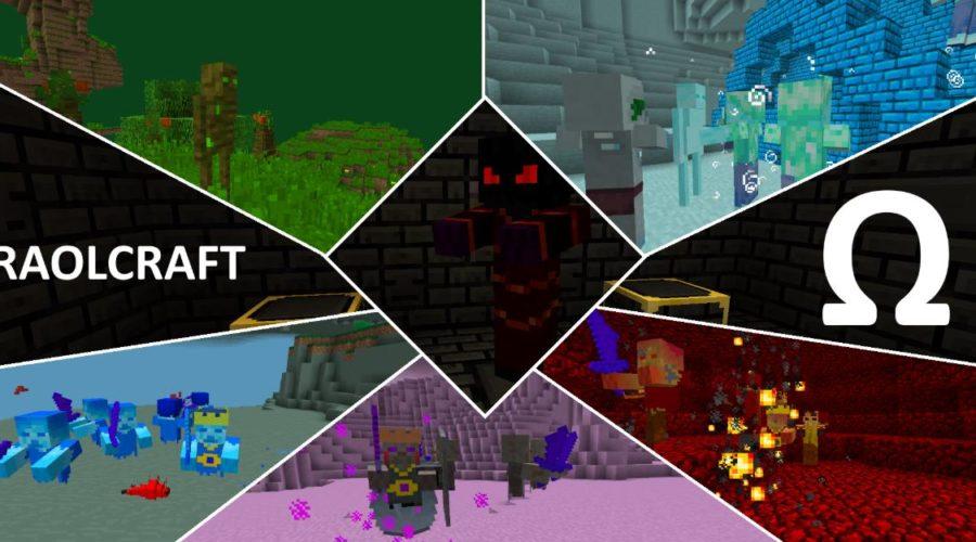 RaolCraft Ω новые локации и экипировка