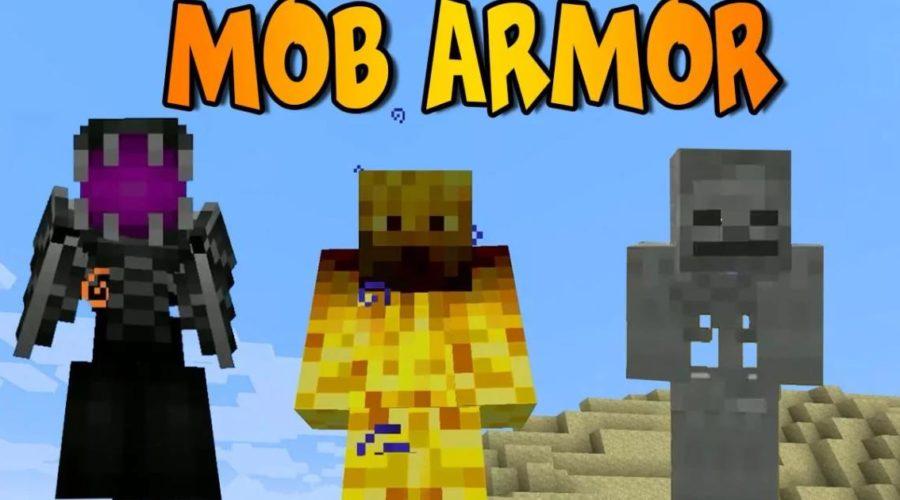 Mob Armor броня превращающая в мобов